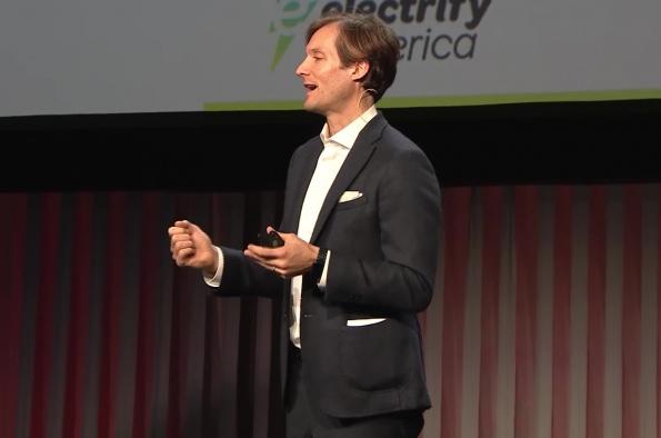 Giovanni Palazzo, CEO, Electrify America - AutoMobility LA 2018
